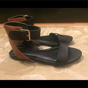 Forever 21 Black and Brown Sandal
